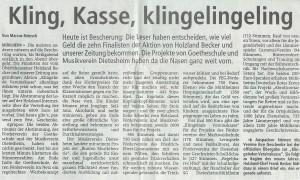 Klingende Vereinskasse 2014 - OP