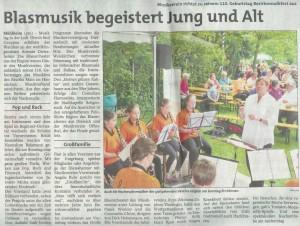Bezirksmusikfest 2014 - Stadtpost